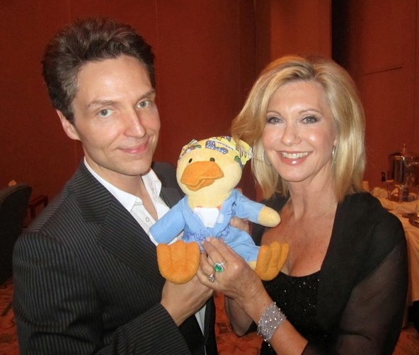 Olivia Newton John and Richard Marx